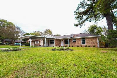 Houston Single Family Home For Sale: 7729 E Boggess Road