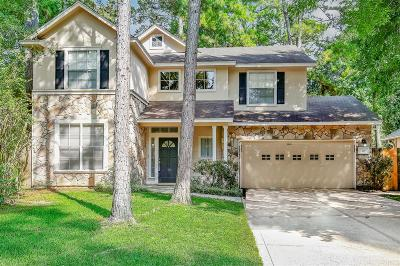 The Woodlands Single Family Home For Sale: 18 Grand Bayou Place
