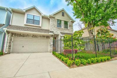 Montrose Single Family Home For Sale: 4012 Woodhead Street