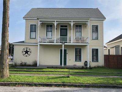 Galveston Single Family Home For Sale: 3701 Avenue M 1/2