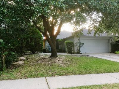 Tomball Single Family Home For Sale: 18107 Eganville Circle