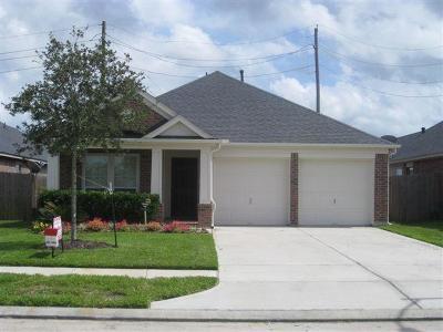 Manvel Single Family Home For Sale: 35 Palm Desert Drive