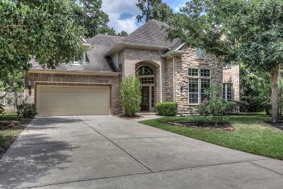 The Woodlands TX Single Family Home For Sale: $520,000