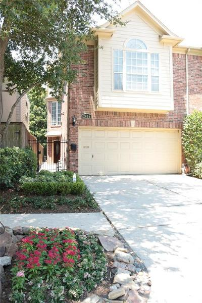 Houston TX Condo/Townhouse For Sale: $599,000