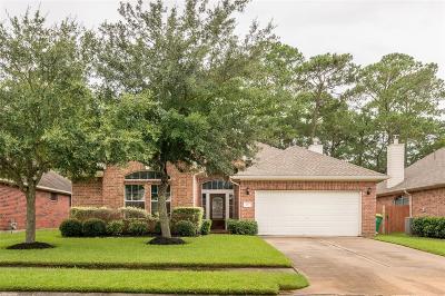 Seabrook Single Family Home For Sale: 1018 Bay Sky Way