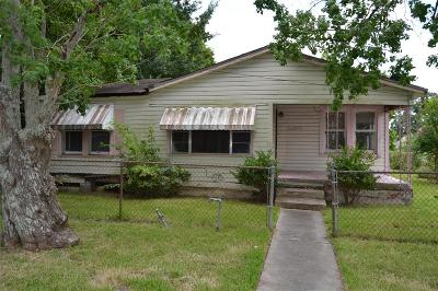 Houston Single Family Home For Sale: 4200 Sterling Street