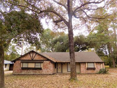 Conroe Single Family Home For Sale: 808 Brook Hollow Drive