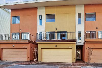 Houston Condo/Townhouse For Sale: 2334 Jackson Street