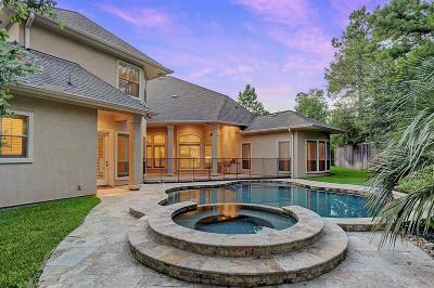 The Woodlands TX Single Family Home For Sale: $810,000