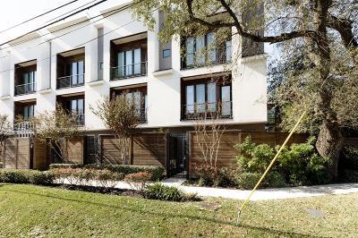 Houston Condo/Townhouse For Sale: 1545 Birdsall Street #C