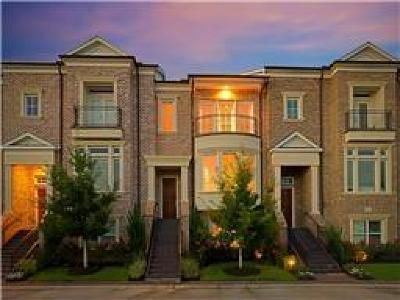 Houston Condo/Townhouse For Sale: 4635 Regent Manor Drive