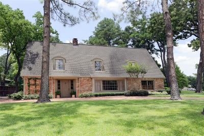 Hunters Creek Village Single Family Home For Sale: 1110 River Bend Drive