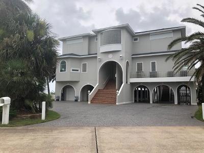 Galveston Single Family Home For Sale: 19219 Shores Drive