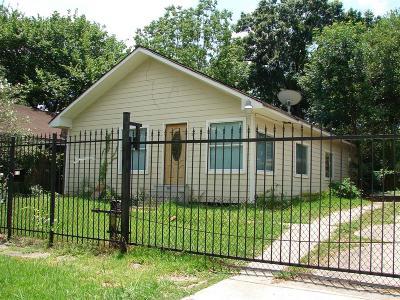 Houston Single Family Home For Sale: 4724 Park Drive