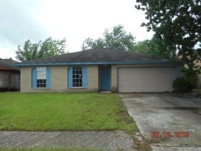 Houston Single Family Home For Sale: 1615 Ridge Hollow Drive