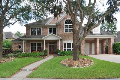 Sugar Land Single Family Home For Sale: 18 Legend Park Drive