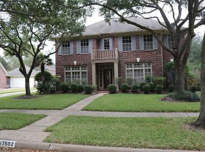 Sugar Land Single Family Home For Sale: 17502 Hollyberry Lane