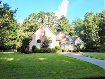 Willis Single Family Home For Sale: 14820 Oak Shores Drive