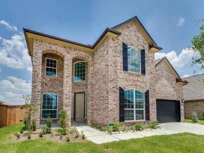 Manvel Single Family Home For Sale: 2707 Cutter Court