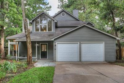 The Woodlands Single Family Home For Sale: 14 W Trace Creek Drive