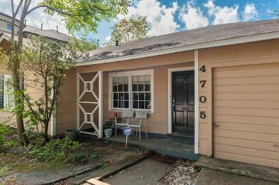 Bellaire Single Family Home For Sale: 4705 Evergreen Street