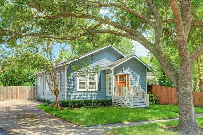 Houston Single Family Home For Sale: 1518 Columbia Street