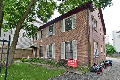 Houston Multi Family Home For Sale: 1821 Oakdale Street #1