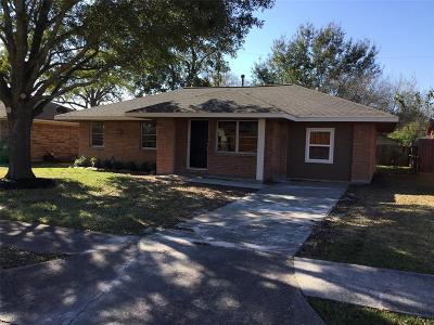 Pasadena Single Family Home For Sale: 1312 Effie Lane
