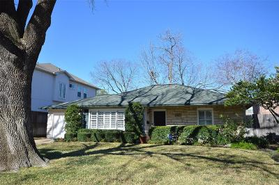 Bellaire Single Family Home For Sale: 820 Jaquet Drive