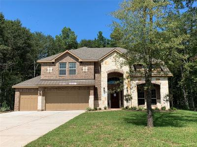 Conroe Single Family Home For Sale: 11222 Quiet Lake Drive