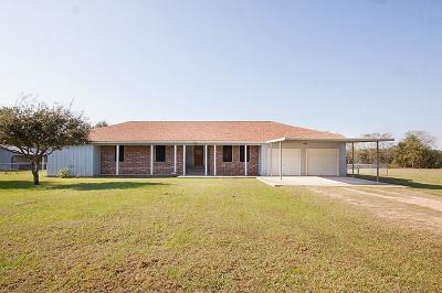 Sealy Single Family Home For Sale: 3642 Quail Circle
