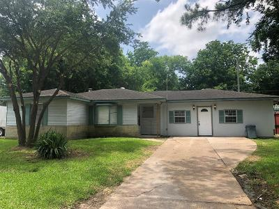 Channelview Single Family Home For Sale: 809 Horncastle Street