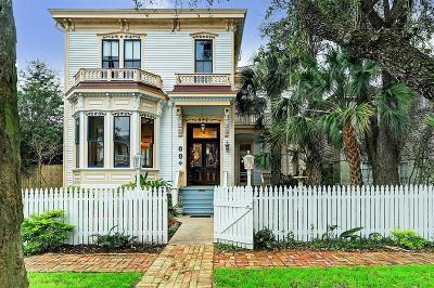 Galveston Single Family Home For Sale: 1923 Avenue M
