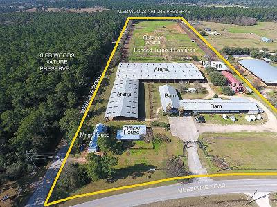 Tomball Farm & Ranch For Sale: 21403 Mueschke
