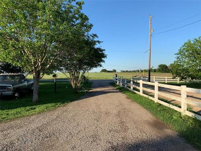Lee County Country Home/Acreage For Sale: 8989 Fm 141