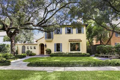River Oaks Single Family Home For Sale: 1929 Sharp Place