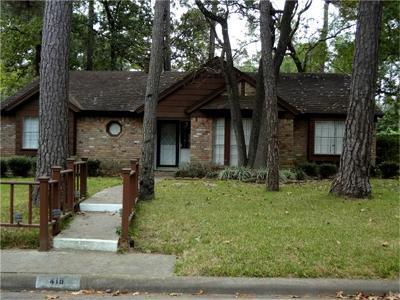 Conroe Single Family Home For Sale: 419 Oakhill Drive
