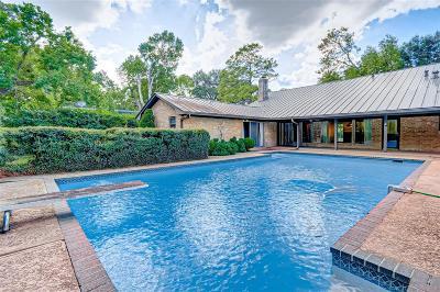 Houston Single Family Home For Sale: 5907 Echo Lake Lane