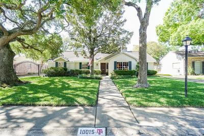 Houston Single Family Home For Sale: 10015 Overbrook Lane