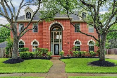 Friendswood Single Family Home For Sale: 1814 Parkview Drive