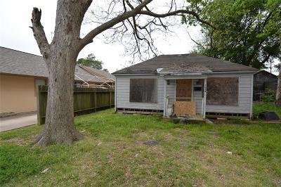 Rosenberg Single Family Home For Sale: 1610 6th Street