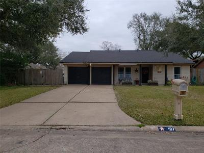 League City Single Family Home For Sale: 187 Loch Lomond Drive