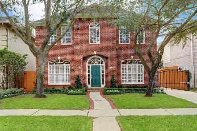 Houston Single Family Home For Sale: 4127 Amherst Street