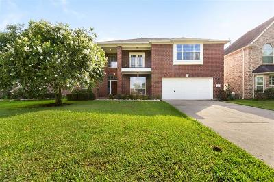 Houston Single Family Home Option Pending: 7822 Heron Lakes Drive