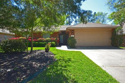 The Woodlands Single Family Home For Sale: 158 N Wynnoak Circle