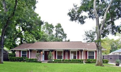 Houston Single Family Home For Sale: 7817 Oldhaven Street