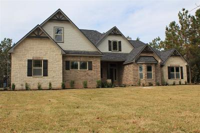 Montgomery Single Family Home For Sale: 12898 Royal Oak