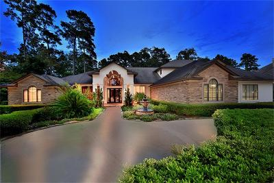 The Woodlands TX Single Family Home For Sale: $2,100,000