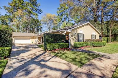 Houston Single Family Home For Sale: 12302 Overcup Drive