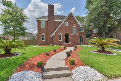 Houston Single Family Home For Sale: 2414 Rosedale Street